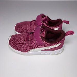 Puma Magenta Carson Sneakers Toddler Girl Size 9